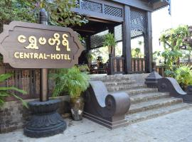 Bagan Central Hotel, hotel in Bagan