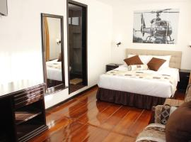 Air Suites Hotel Boutique, hotel em Quito