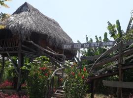 Sunny Field Eco Stilt House, pet-friendly hotel in Cat Tien