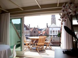 House Loppem 9-11, apartment in Bruges
