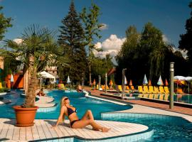 Holiday Beach Budapest Wellness Hotel with Sauna Park, hotel in Budapest