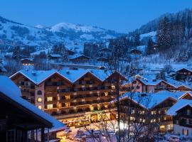 Bernerhof Swiss Quality Hotel Gstaad, отель в городе Гштад