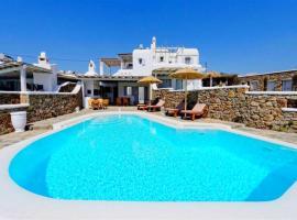 Happy Villas Mykonos, hotel in Kalafatis