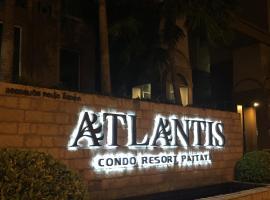 Jomtien Second Rd Апартаменты Atlantis อพาร์ตเมนต์ในหาดจอมเทียน