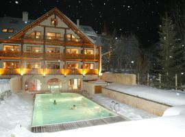 Alliey & Spa Piscine, hôtel au Monêtier-les-Bains