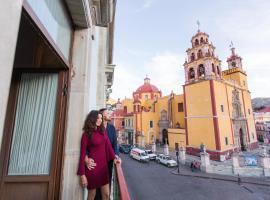 Hotel de la Paz, hôtel à Guanajuato