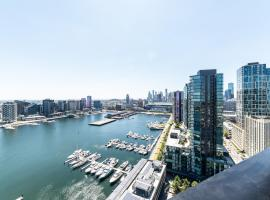 Pars Apartments - Collins Wharf Waterfront, Docklands, hotel with jacuzzis in Melbourne