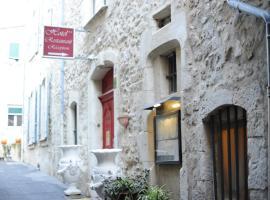 Logis Hotel le Prieuré, hotel in Bourg-Saint-Andéol