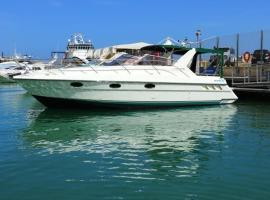 Blue Crystal, boat in Valletta
