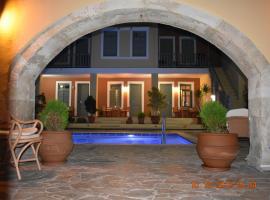Vecchio Hotel, hotel in Rethymno