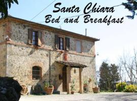 Santa Chiara Bed and Breakfast, apartment in Monteriggioni
