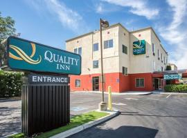 Quality Inn Merced Gateway to Yosemite, hôtel à Merced