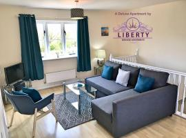 Liberty Locking Castle, apartment in Weston-super-Mare