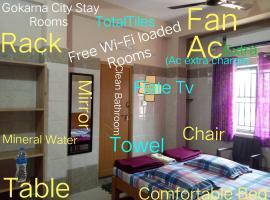 Gokarna City Stay Rooms, lodge in Gokarna