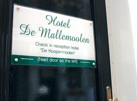 De Mallemoolen, hotel in Red Light District, Amsterdam