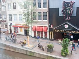 Hotel Torenzicht, hotel in Red Light District, Amsterdam