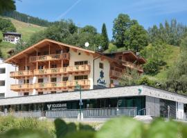 Residence Kristall, Budget-Hotel in Saalbach-Hinterglemm