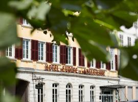 Best Western Plus d'Europe et d'Angleterre, hotel in Mâcon
