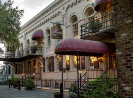 Olde Harbour Inn, Historic Inns of Savannah Collection, boutique hotel in Savannah