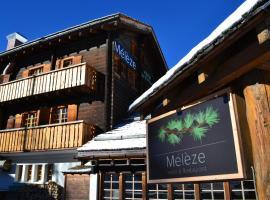 Hôtel Mélèze, Hotel in Grimentz