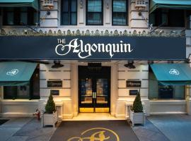 The Algonquin Hotel Times Square, Autograph Collection, hotel near Empire State Building, New York
