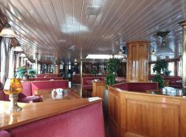 キャプテン アンナ、アムステルダムのホテル