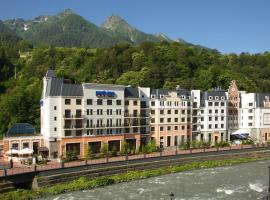 Park Inn by Radisson Rosa Khutor, hotel in Estosadok