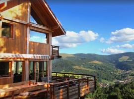INUï, GRAND CHALET DE LUXE NEUF, SAUNA, SPA, classé 5 étoiles, cabin in Metzeral