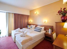 Crystal City Hotel, hotell i Aten