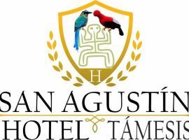 Hotel San Agustín, hotel in Támesis