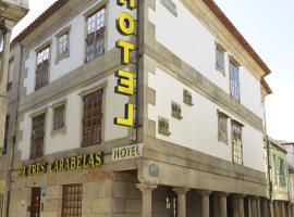 Hotel Tres Carabelas, hotel cerca de Islas Cíes, Baiona