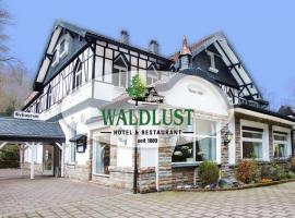 Hotel Restaurant Waldlust, hotel near Westfalenpark Dortmund, Hagen