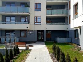 Nowoczesny Apartament w Centrum, family hotel in Kościerzyna
