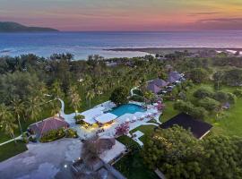 Pondok Santi Estate, beach hotel in Gili Trawangan