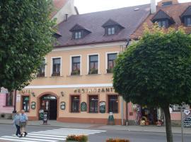 Hotel Fogl, hotel in Nová Bystřice