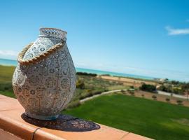 Attico Panoramico Agrigento, hotel vicino alla spiaggia a Agrigento