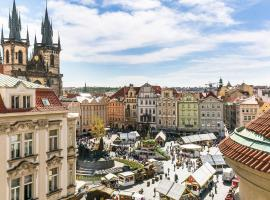 The Old Town Square & Parizska Apartments, hotel near Municipal House, Prague
