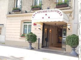 Hotel Champerret Elysees, hotel near Wagram Metro Station, Paris