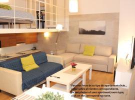 Apartamentos Clavero, self-catering accommodation in Málaga