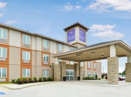 Sleep Inn & Suites Gulfport, hotel near Gulfport-Biloxi International Airport - GPT,