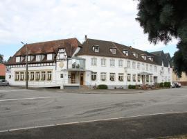 Hôtel Restaurant À L'Etoile, hôtel à Merkwiller-Pechelbronn
