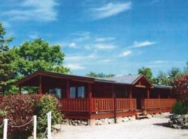 Alpine Lodge 1, Kippford, Dalbeattie, hotel in Dalbeattie