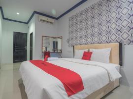 RedDoorz Near RSUD Embung Fatimah Batam, guest house in Batam Center