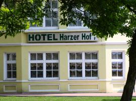 Hotel Harzer Hof, ξενοδοχείο σε Osterode