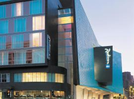Radisson Blu Hotel, Glasgow, hotel near Glasgow Queen Street Station, Glasgow
