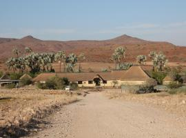 Palmwag Lodge, glamping site in Palm