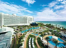 Fontainebleau Miami Beach, beach hotel in Miami Beach