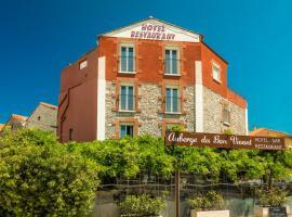 Auberge du Bon Vivant, hotel in Argelès-sur-Mer