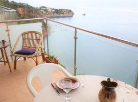 Apto para 6 pax con increíble vista mar Rocafosca, apartment in Sant Feliu de Guíxols