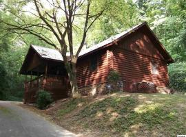 Log Cabin! 1mile from the action! Private Lane! Hot tub! Pool table!, vacation rental in Pigeon Forge